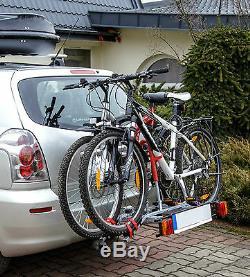 Soldes D'hiver! Titan 2 Bike Rack / Cycle Porte-attelage Monté Basculement Fiche 7pin