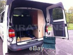 Store Banne Pour Vw T5 Avec Spoilers (noir) Camping-car