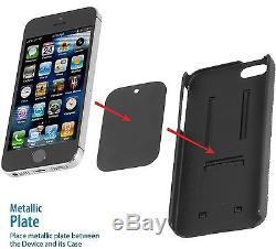 Support De Montage De Ventilateur De Voiture Magnétique De Téléphone Portable De Téléphone Portable Iphone 6 7 8 Plus Gps