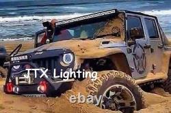 Suzuki Sierra Sj80 Sj80v Lj80 1pr Led Halo 7 Phares Lumières Flash Amber