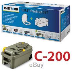 Thetford Fresh Up Set C200 Cassette Camping Abwasser Fäkalientank Reiniger Neu