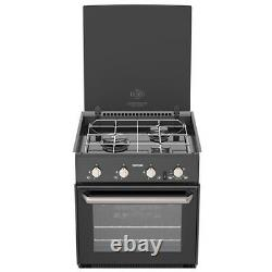 Thetford Triplex Cooker, 3 Burner Hob Oven & Grill, Caravane, Camping-car, Bateau