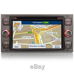 Unité Centrale À Ajustement Direct Radio Gps Sat-nav DVD Bluetooth Stéréo Pour Ford Transit Mk7