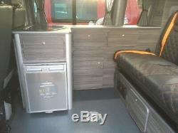 Unité De Cuisine Vw Transporter T5 T6 Camper Van Slimline Pour Système De Lit Rib 129
