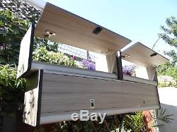 Unité De Meubles Camper Van High Locker Pour Camping-car Construite Sur Commande, Boîte De Rangement