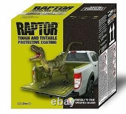 Upol Raptor Linge De Lit Minuscule Tough Coating U-pol 4l Kit (nouveau)