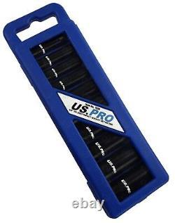 Us Pro Deep Impact Socket Set 3/8 Drive Long Reach Thin Wall Sockets 10-24mm