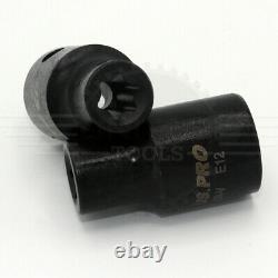 Us Pro Outils 17pc 3/8 & 1/2 Dr Impact E-torx Sockets Set E5 À E24 3420