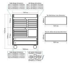 Us Pro Tools Coffret Armoire Coffre Noir + Acier Inoxydable 41 Option Finance