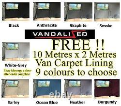 Van Insonorisant & Kit Isolation Et Tapis Libre Doublure Vw T 2 2,5 3 4 T5 T6