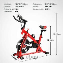 Vélo D'exercice Home Gym Vélo Cardio Fitness Training Indoor-10kg Flywheel Nouveau