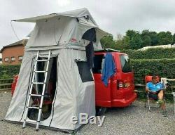 Ventura Deluxe 1.4 Roof Top Tente + Annexe 2-3 Personnes Camping Expedition 4x4 Vw T5