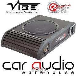 Vibe Optisound Auto 8 900 Watts Slim Car Van Sub Under Subwoofer