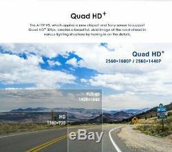 Viofo A119 V3 + Gps Camera Recorder Dash Hd 1600p Quad Dashcam + Parking Hardwire