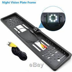 Voiture Vue Arrière Parking Caméra De Recul Sauvegarde Numéro De Licence Plate Night Vision