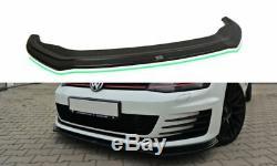 Vw Golf Gti 7 Gtd Diffuseur Lippe Frontansatz Frontlippe Spoiler V. 2 Hochglanz