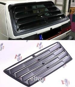 Vw Golf Mk2 Gti Fenêtre Louver Spoiler Tuning Pièces De Voiture 2 / 4 Portes Plastique Abs