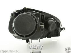 Vw Golf Mk5 03-09 Gti Type Black Phares Phares Paire D'halogènes Neuf