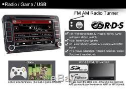Vw Golf Mk5 Mk6 Passat Touran Tiguan Voiture Gps Stéréo Dab + Radio Satnav Lecteur DVD