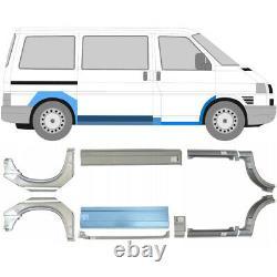Vw Transporter T4 Swb/mwb 1990-2003 Panneau De Réparation Pas De Porte Aile Lisse / Ensemble De 10