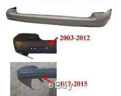 Vw Transporter T5 & T5.1 2003-2012 Assurance Pare-chocs Arrière Lisse Apprêtée Approuvée