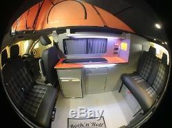 Vw Transporter T5 T6 Swb Meubles Camper Unités Cuisine Assemblé & Livré
