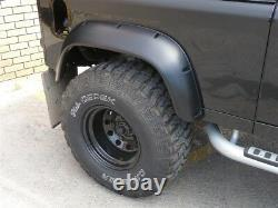 Wide Wheel Arch Kit Extendue Arches Abs Uk Made Pour Land Rover Defender 90 110