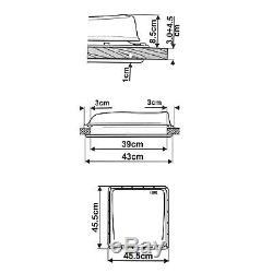 Wohnwagen Dachfenster Fiamma Turbo Vent Dachluke Dachhaube 40x40 CM Neu & Ovp