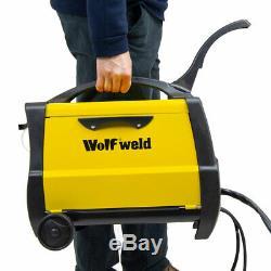 Wolf Mig 140x Soudeuse Soudeuse Et Accessoire CC À Courant Continu Lisses Turbo