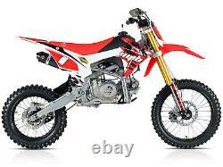 Wpb 140 Race Red Welshpitbikes Pit Dirt Bike Stomp Wpb140 Démon X 17hp