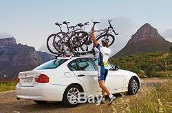 X2 Thule 591 Porte-vélos / Porte-vélos À Monter Sur Le Toit Proride 2017