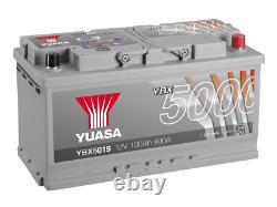 Yuasa Voiture Batterie Ybx5019 Calcium Silver Case Smf Soci 12v 900cca 100ah Ea1000